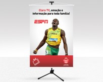 Banner Claro TV Usain Bolt