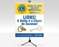 Banner Lions Clube